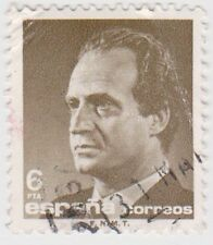 (SPA104) 1985 Spain 6p brown fine used ow2814