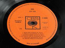 "SKID ""SKID ROW"" UK 1970 CBS S-63965 A1/B1 1st Press  STEREO LP.EX-!!! RARE!!!"