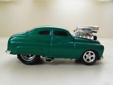 MUSCLE MACHINES (1949) '49 MERCURY COUPE - SUPERCHARGED - (GREEN) 1/64 (LOOSE)