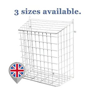 Letterbox Cage Letter Basket Guard Door Mail Box Catcher Post Wire Protector LC0