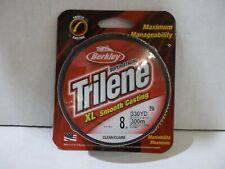 Berkley Trilene XL 8 lb 330 yards clear  NIP