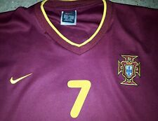 Maillot Football Portugal Domicile Nike Floqué 7 FIGO (Euro 2000) Taille XL