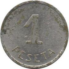 ESPAÑA LOCALES 2ª REPUBLICA ESPAÑOLA CONSEJO MUNICIPAL DE IBI 1 PESETA 1937