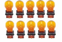 10x USA WAGNER 3157NA GT8 Miniature Natural Amber Lamp Auto Light Bulb Car 3157
