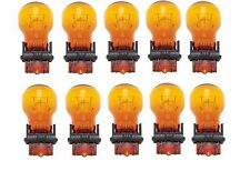 10x USA WAGNER 3157NA GT8 Miniature Natural Amber Lamp Auto Light Bulb Car 3157