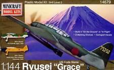 Minicraft B7A Ryusei Grace Bombardier-torpilleur Japan 752 1945 modèle-kit 1:144
