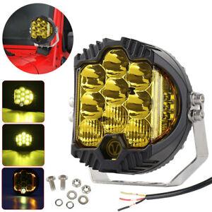 1/2 Pcs 5inch LED Work Light Pods Spot Flood Combo Fog Lamp Offroad Driving Car
