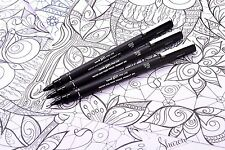 Uni-Ball Drawing Fineliner Pens - Assorted  3 - 1x 0.1mm/0.3mm/0.5mm Nib Sizes