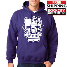 HELLO STORM TROOPER HOODIE Hello Kitty Hooded Sweatshirt Retro Purple Star wars