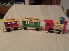 FISHER PRICE 3 PC. CIRCUS TRAIN 991