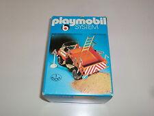 Playmobil Klicky 3203 Baustelle Lkw Muldenkipper Truck 70er 80er Jahre OVP V2