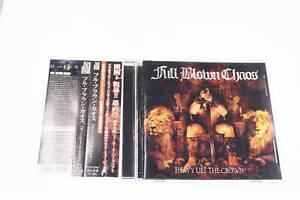 FULL BLOWN CHAOS HEAVY LIES THE CROWN CD JAPAN OBI A13907