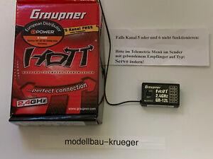 Gr 12 L Graupner hott Empfänger S1012