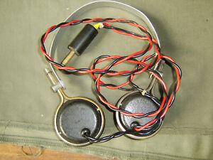 Vintage Bakelite Headphones S G Brown LTD Type F in working order fair condition