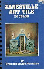 Zanesville American Art Pottery Tiles - Rhead Mueller Northrup Etc. / Book
