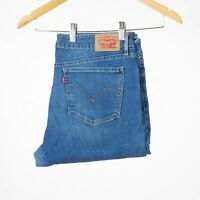 Levi's 712 Slim Time worn Blau Damen Jeans 32/32