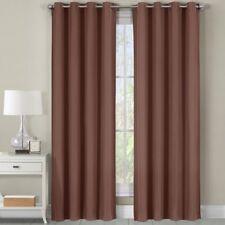 Luxor Heavyweight %100 Cotton Room-Darkening Grommet Curtains Single Panel