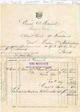 Dépt 49 - St Hilaire St Florent - Beau Filigrane dans le Papier Veuve Amiot 1911