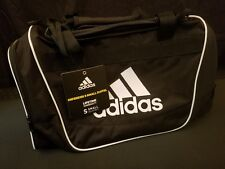 Adidas Defender II Black White Small Duffel Bag Gym Bag