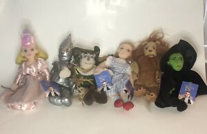 🔥NWT The Wizard of Oz 1998 Warner Bros. Store WB Plush Dolls Characters Lot 6