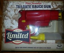 wembley tailgate sauce gun set condimemt ketchup mustard new limited edition