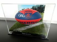 ✺Signed✺ MAX GAWN Melbourne Football COA Demons AFL 2020 Jumper