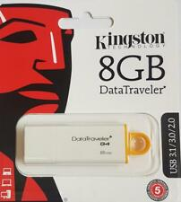 PENDRIVE USB KINGSTON CHIAVETTA 8GB MEMORIA DTI G4 FLASH DRIVE 2.0 3.0 3.1