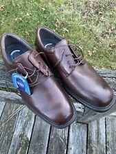 NUNN BUSH Men's Dress Shoes Size 9.5 M Brown leather Comfort Gel Maury # 83363