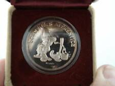 Walt Disney's Sorcerer's Apprentice Limited Edition 1 oz .999 Silver Coin 32817#