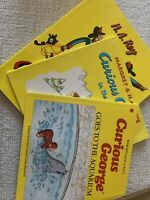 Curious George set of 3 books By: Margret and HA Rays
