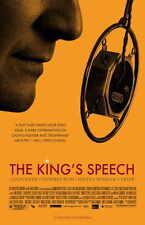 THE KING'S SPEECH Movie Promo POSTER B Colin Firth Helena Bonham Carter