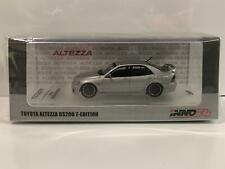 Toyota Altezza RS200 Z-Edition Decals and Set of Wheels 1:64 Inno Models