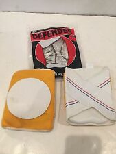 VINTAGE NOS DEFENDER SKATEBOARD VOLLEYBALL SPORTS KNEE PADS GOLD SIZE XS