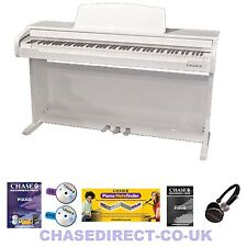 CHASE CDP-489 DIGITAL ELECTRIC PIANO - HIGH GLOSS WHITE
