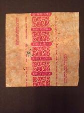 """1930's """"Dum Dums"""" Butterscotch Lollipop Wrapper"""