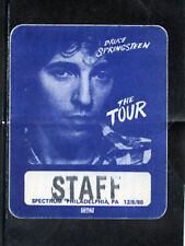 Bruce Springsteen-BS pass working personnel staff12/6/80 Spectrum Philly - blue