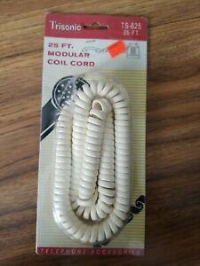 Trisonic 25 Foot Modular Coil Cord
