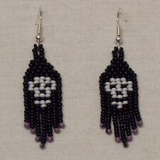 Skulls 1 Bead Earrings