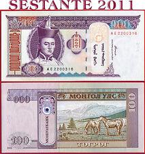 MONGOLIA  -  100 TUGRIK 2000  -  P  65a   -   FDS / UNC