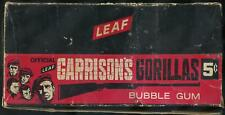 1967 Leaf Garrison's Gorillas 5-Cent Display Box
