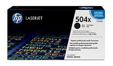 HP 504x High Yield LaserJet Toner Cartridge Black CE250X