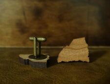Wood Cuff Links + States or Square or Round