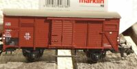 Märklin 4818 Covered Goods Wagon G 10 DB Epoch 3 With Abbrüchen, Structure Loose