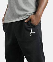 Nike Jordan Jumpman Fleece Joggers Sweatpants Black Mens Size XL 940172-010 $65