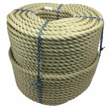 20mm Synthetic Polyhemp Decking Rope x 80m Decorative Garden Rope, Balustrade