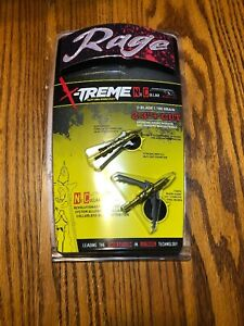 "RAGE NC X-Treme COC Cut on Contact Broadhead 2.3"" 100 Grain R38600 2 Pack"