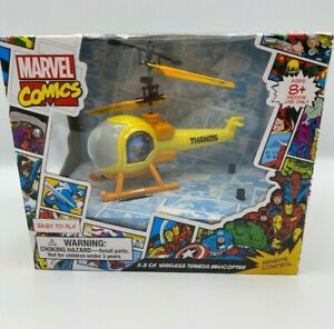 Marvel Comics Avenger 2.5 CH Wireless ThanosCopter Remote Control. NEW 8+