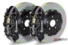 Brembo Front GT Brake 6Pot N Caliper Black 380x34 Slot Rotor Supra JZA80 93-98