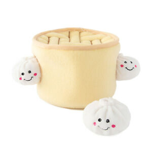 Zippy Paws Burrow Dog Toy Soup Dumplings
