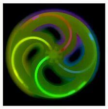 Glow in the Dark FLYING DISC Frisbee Toy, Beach, Pool, Park, Outdoor Summer Fun